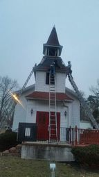 Steeple Replacement at the Faith Bible Church in Jackson, NJ (1)