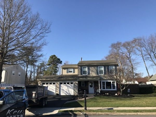New GAF Timberline Weatherwood Roof in Howell, NJ (1)