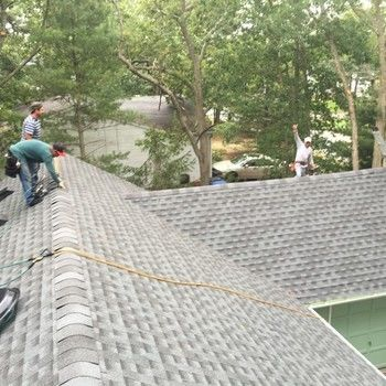 Installed New Roof