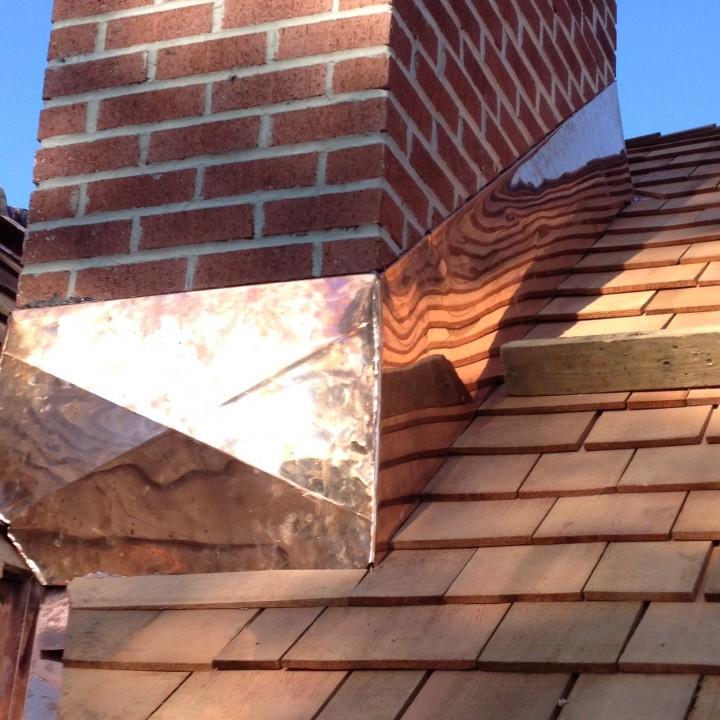 Cedar Shingle Chimney : Photos by keystone contracting llc