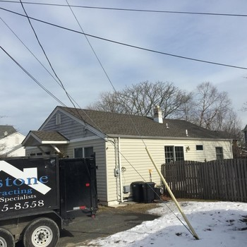 New Roof Install by Keystone Contracting LLC in Point Pleasant Beach, NJ