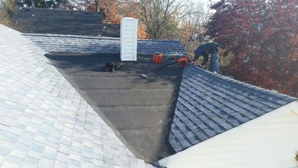 Before and After Roof Repair Wall, NJ